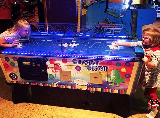 Arcades at Party Central in Bossier City, LA