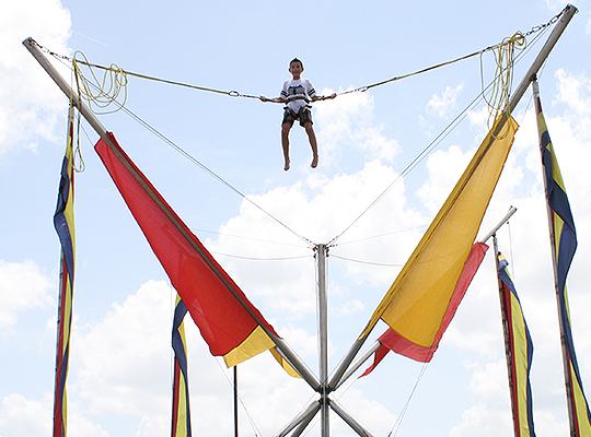 Bungee Trampoline at Party Central in Bossier City, LA